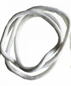 sznurowadła grube białe kordel