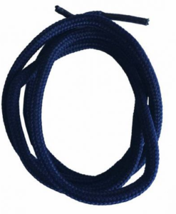 sznurowadła grube granatowe kordel