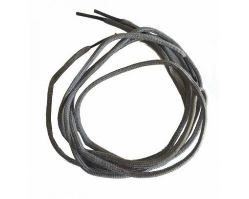 sznurowadła cienkie szare rund