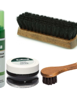 czyszczenie obuwia skóra gładka collonil