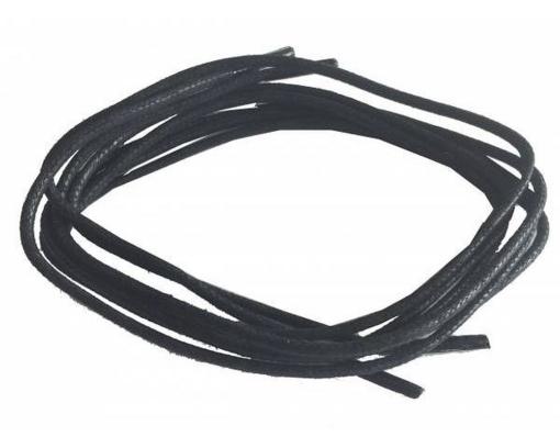 sznurowadła woskowane cienkie czarne