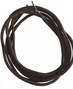 sznurowadła cienkie średni brąz rund